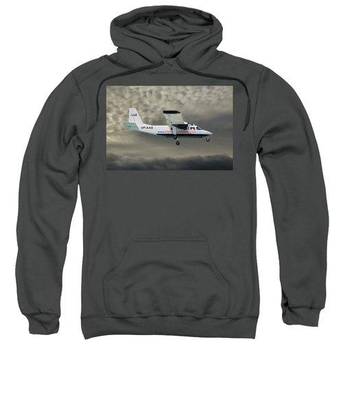 Anguilla Air Services Britten-norman Bn-2a-26 Islander 116 Sweatshirt