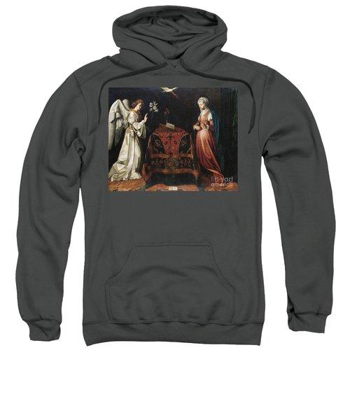 Annunciation, Circa 1612  Sweatshirt