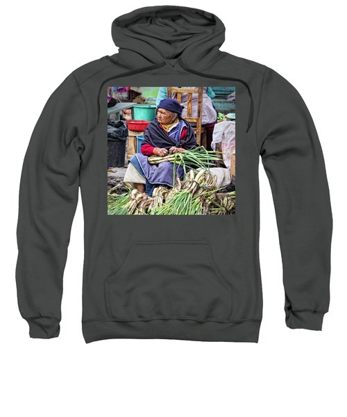 Another Day At The Market Sweatshirt