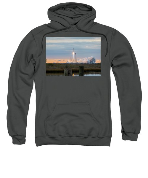 Antares Launch From Wallops Island Sweatshirt