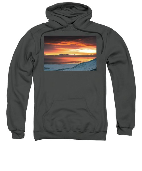 Antelope Island Sunset Sweatshirt