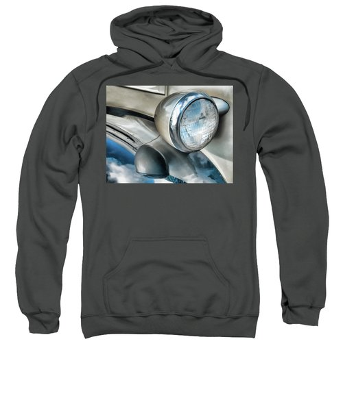 Antique Car Headlight And Reflections Sweatshirt