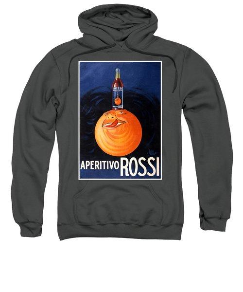 Aperitivo Rossi - Alcoholic Beverages - Vintage Advertising Poster Sweatshirt