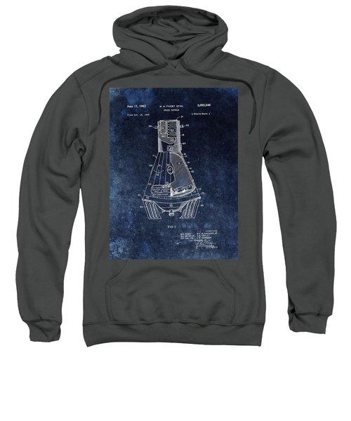 Apollo Command Module Patent Sweatshirt