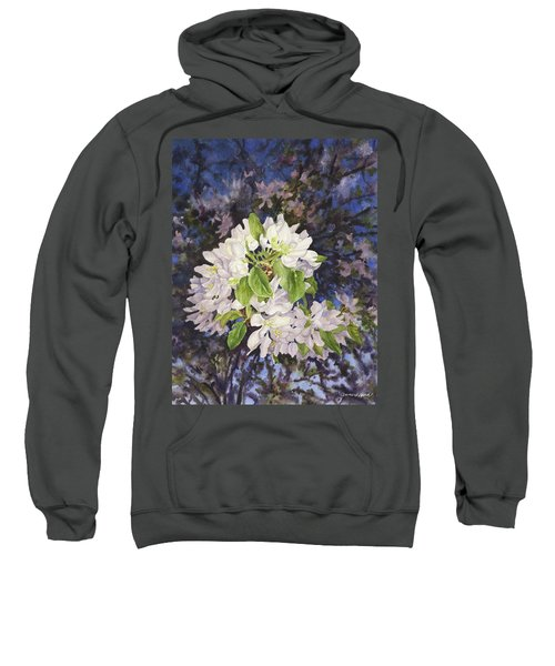 Apple Blossoms At Dusk Sweatshirt