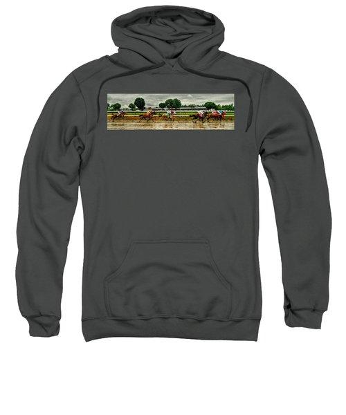 Approaching The Far Turn Sweatshirt