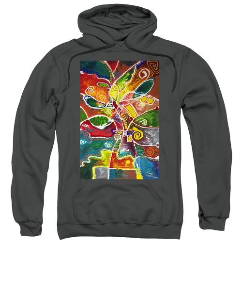 April Bouquet Sweatshirt