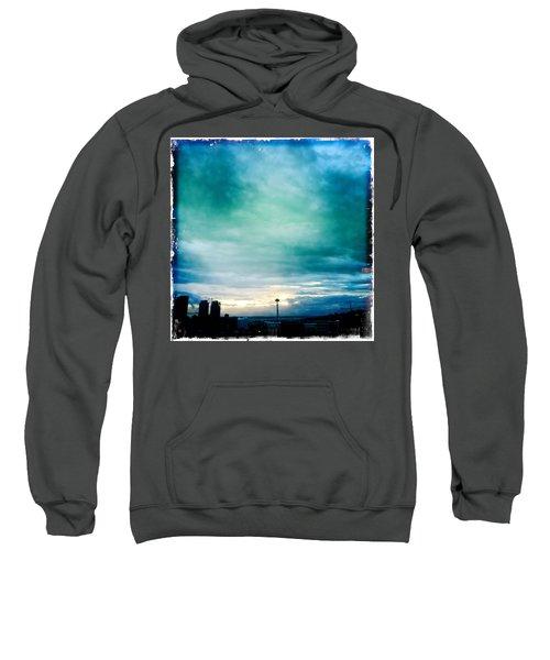 Aqua Needle Sweatshirt
