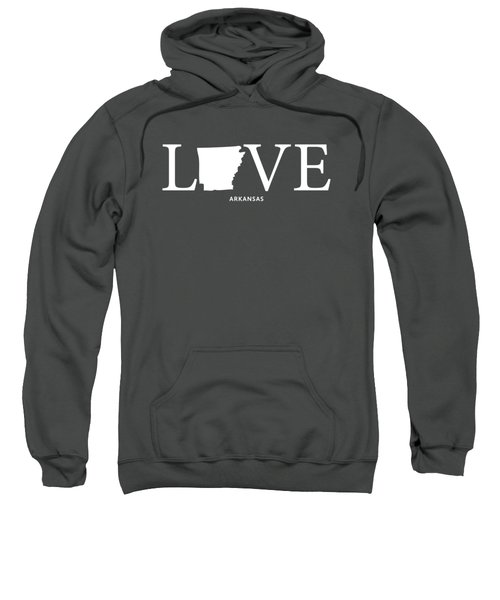Ar Love Sweatshirt by Nancy Ingersoll