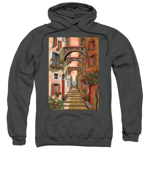 Archetti In Rosso Sweatshirt