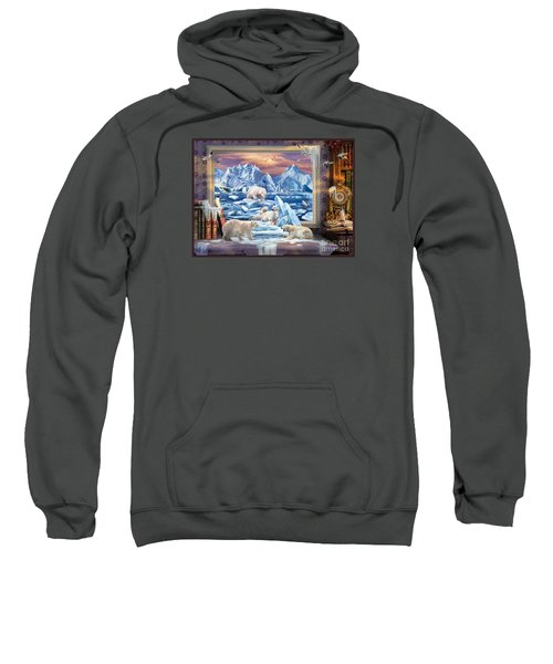 Arctic Bears Coming Sweatshirt
