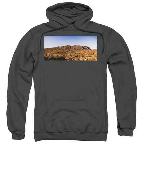 Arid Australian Panoramic Sweatshirt