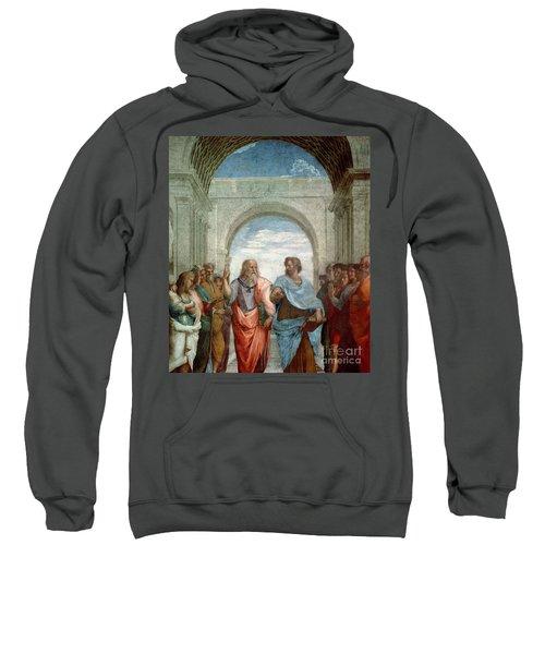 Aristotle And Plato Sweatshirt