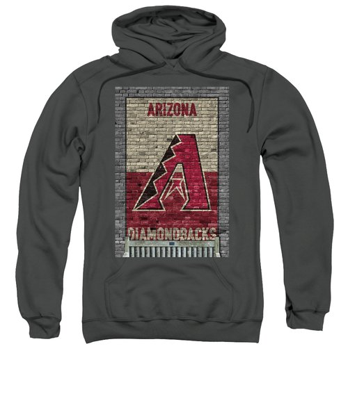Arizona Diamondbacks Brick Wall Sweatshirt by Joe Hamilton
