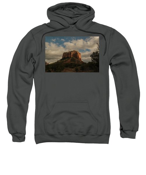 Arizona Red Rocks Sedona 0222 Sweatshirt by David Haskett