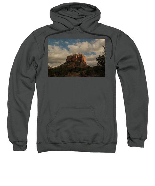 Arizona Red Rocks Sedona 0222 Sweatshirt by David Haskett