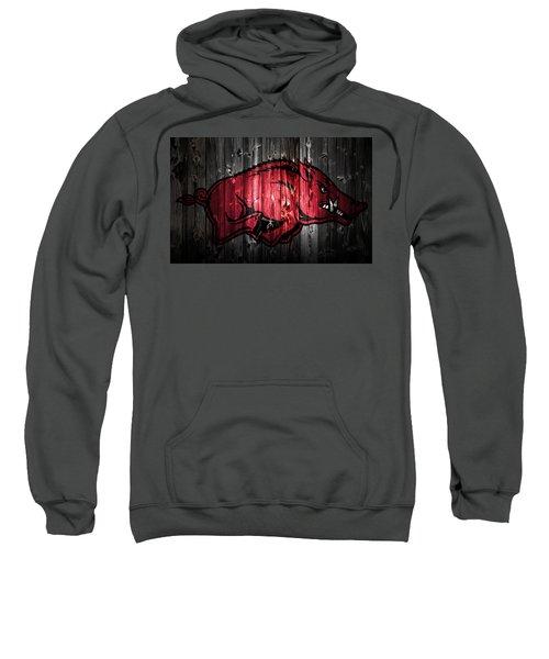 Arkansas Razorbacks 2a Sweatshirt by Brian Reaves