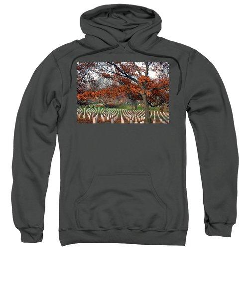 Arlington Cemetery In Fall Sweatshirt