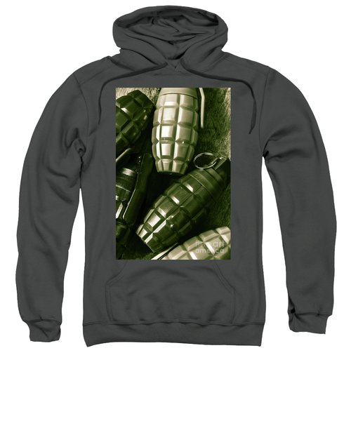 Army Green Grenades Sweatshirt