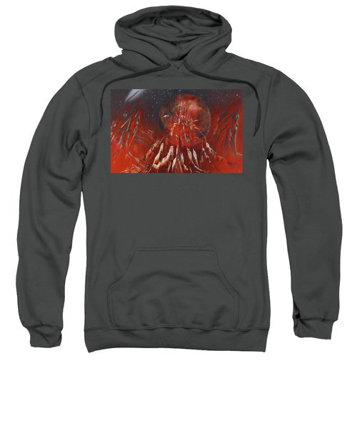 Arrival At Red Hill Sweatshirt