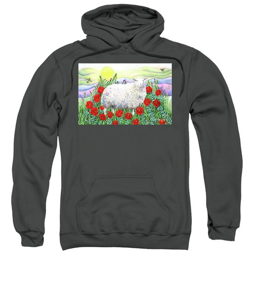 Arrival Of The Hummingbirds Sweatshirt