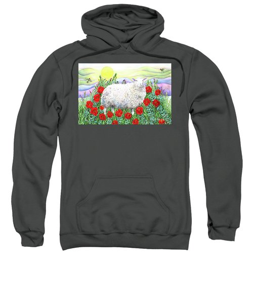 Arrival Of The Hummingbirds Sweatshirt