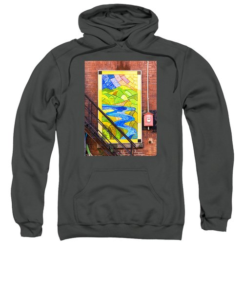 Art And The Fire Escape Sweatshirt