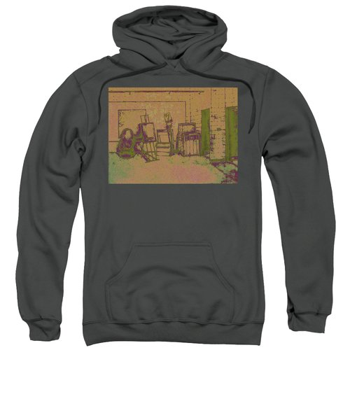 Art Intro Mixed Media Sweatshirt