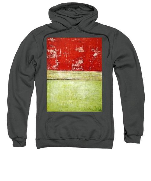 Art Print Rotgelb Sweatshirt
