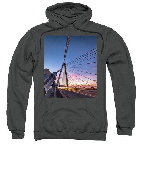 Arthur Ravenel Jr. Bridge Light Trails Sweatshirt