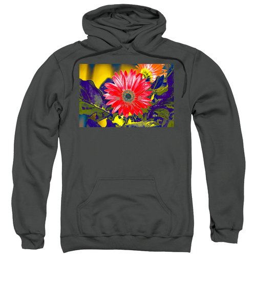 Artistic Bloom - Pla227 Sweatshirt