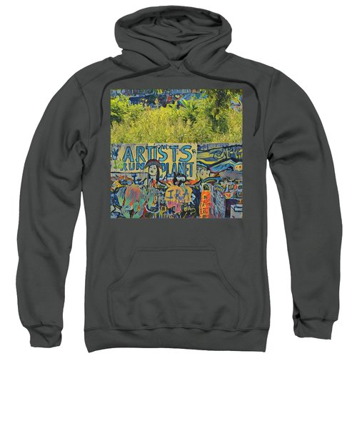Artists Run The Planet Sweatshirt