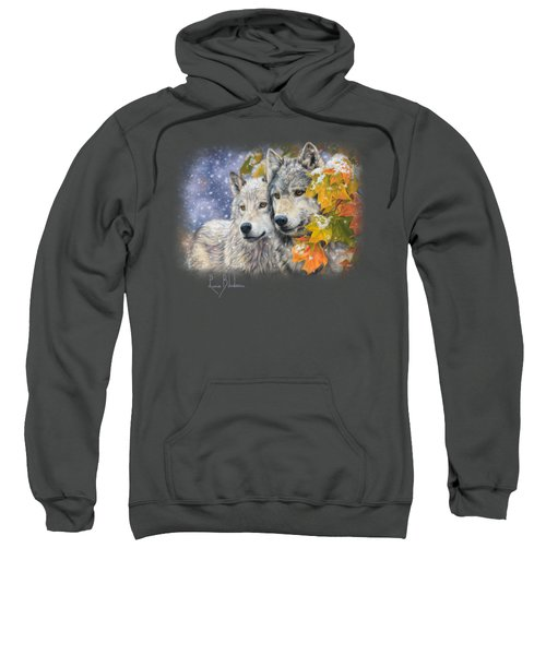 Early Snowfall Sweatshirt by Lucie Bilodeau