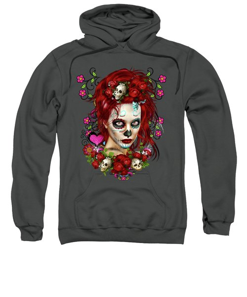 Sugar Doll Red Sweatshirt