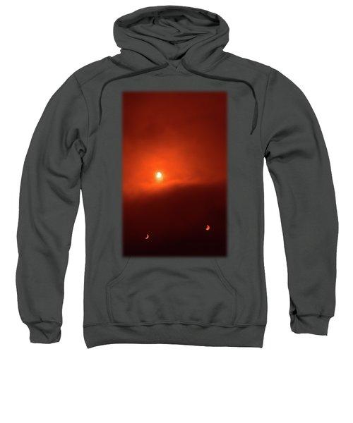 Solar Eclipse Over Somerset Sweatshirt