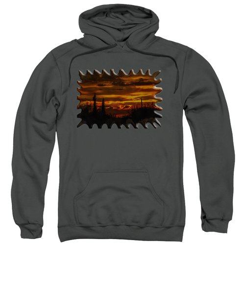Sunset No.16 Sweatshirt by Mark Myhaver