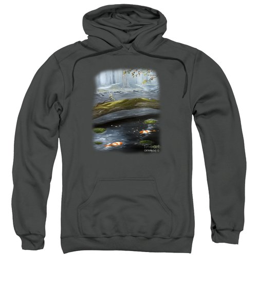 The Wishing Pond  Sweatshirt by Susan  Rossell