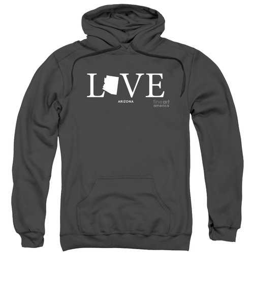 Az Love Sweatshirt by Nancy Ingersoll
