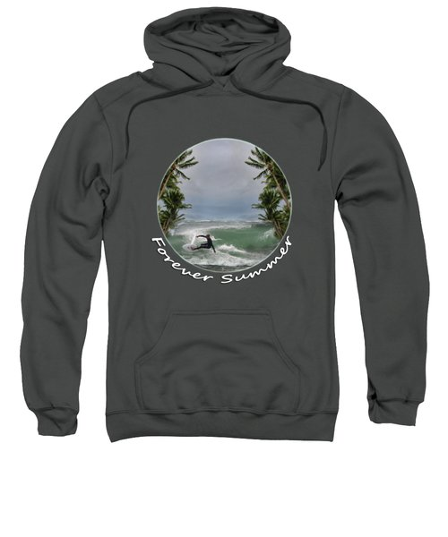Sweatshirt featuring the photograph Forever Summer 2 by Linda Lees