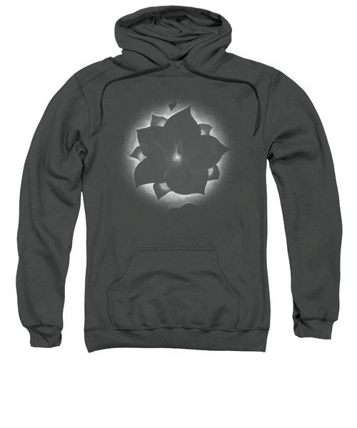 Fleur Et Coeurs Monochrome Sweatshirt