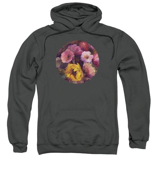 Abundance- Floral Painting Sweatshirt