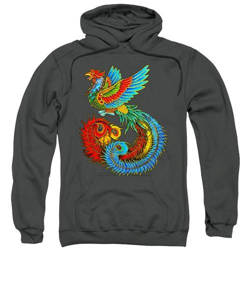 Fenghuang Chinese Phoenix Sweatshirt by Rebecca Wang