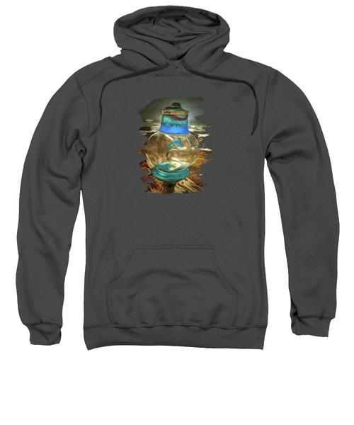 Beach Treasures - Faith Sweatshirt by Thom Zehrfeld