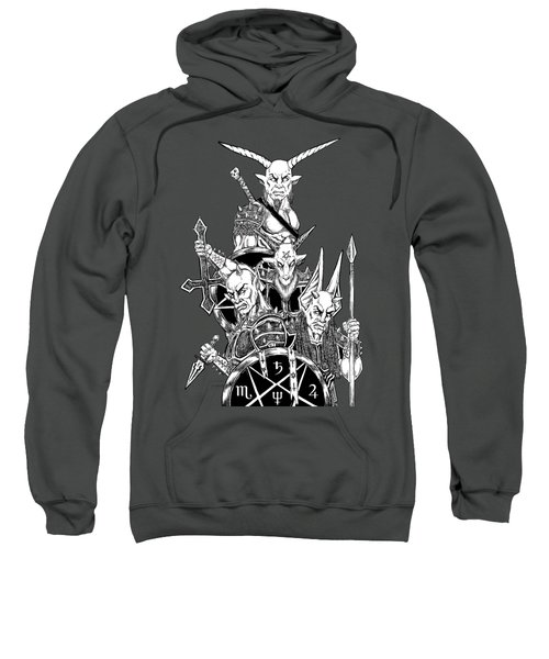 The Infernal Army White Version Sweatshirt