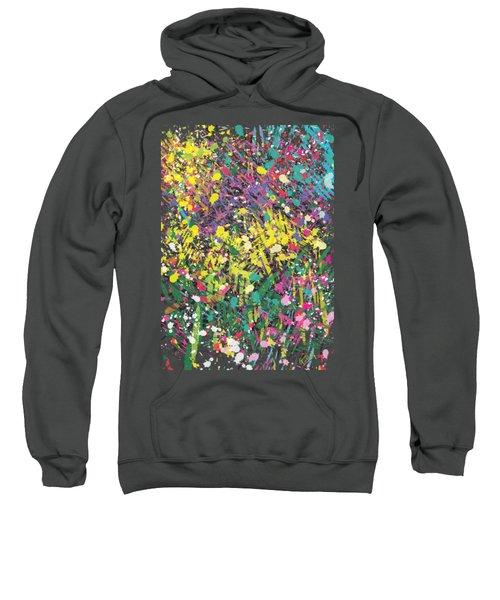 Flower Bed Abstract Sweatshirt