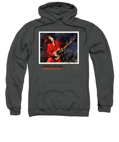 Prince Nelson With Guitar  Sweatshirt