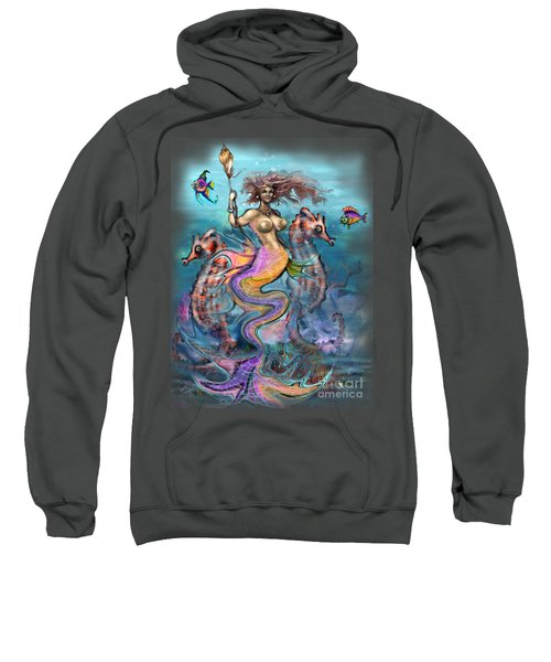 Mermaid Sweatshirt by Kevin Middleton