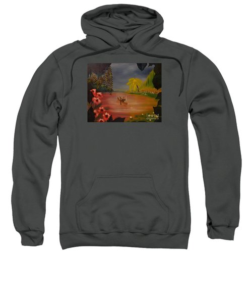 Asian Lillies Sweatshirt