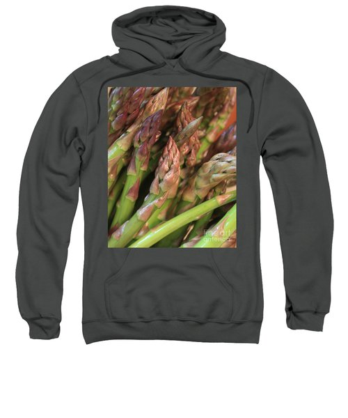 Asparagus Tips 2 Sweatshirt