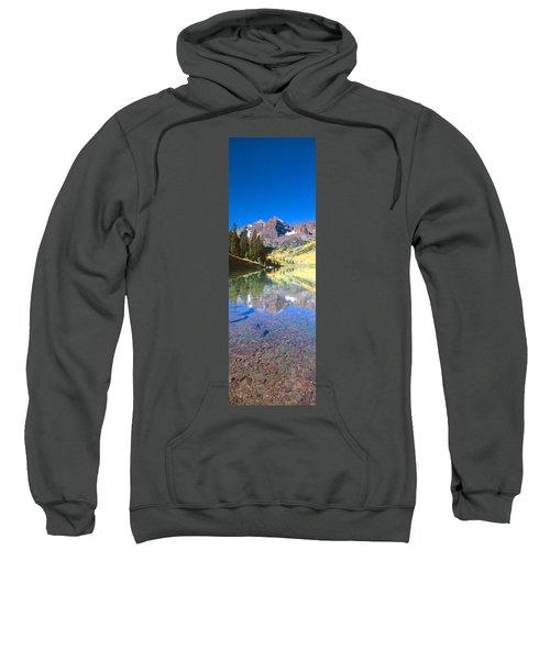 Aspens And Morning Light, Maroon Bells Sweatshirt